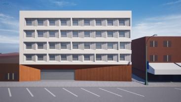Generated facade design sample